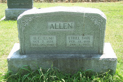 Ethel <i>Dail</i> Allen