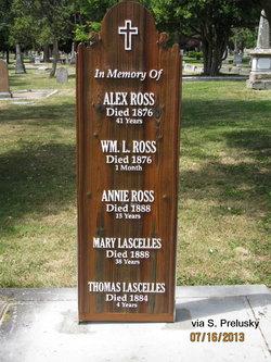 Mary Ann (Ross) <i>Bastian</i> Lascelles