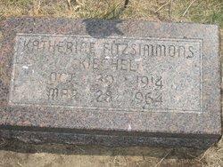 Katherine F <i>Fitzsimmons</i> Kiechel