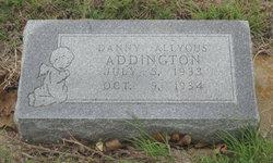 Danny Allyous Addington