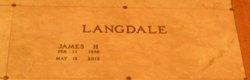 James H Jim Langdale