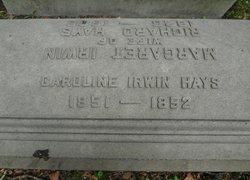 Caroline Irwin Callie Hays