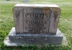 Anna Cornelia <i>Davie</i> Curtis