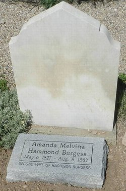 Amanda Melvina <i>Hammond</i> Burgess