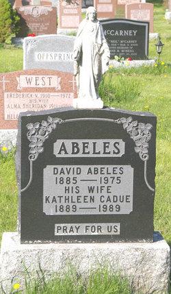 Kathleen <i>Cadue</i> Abeles