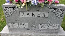Norma Eudell <i>Harvey</i> Baker
