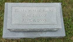 Phoebe Murray Adams