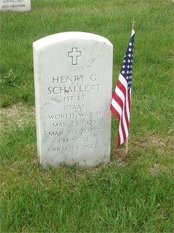 Henry Gerald Hank Schallert