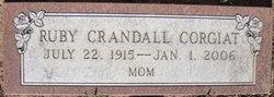 Ruby Adeline <i>crandall</i> Corgiat