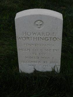 Howard F Worthington