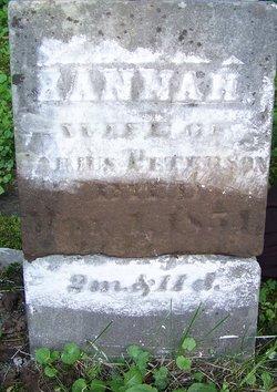 Hannah <i>Post</i> Peterson