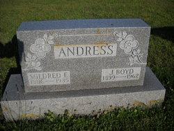 Mildred Eva <i>Wortz</i> Andress