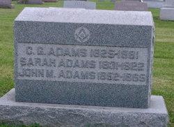 C G Adams