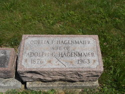 Odelia Frances <i>Courtad</i> Hagenmaier