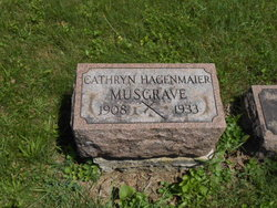 Catherine Regina <i>Hagenmaier</i> Musgrave