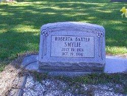 Roberta <i>Smylie</i> Baxter