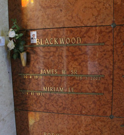 James Webre Blackwood