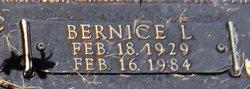 Bernice L. <i>Lineberry</i> Frost