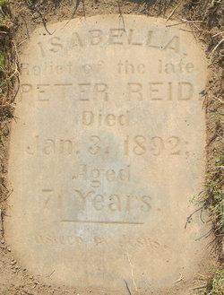Isabella Margaret <i>Saunders</i> Reid