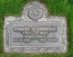 Everett Orison Ethredge
