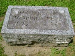 Hazel F <i>Merrihew</i> Gove