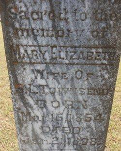 Mrs MARY ELIZABETH BETTIE <i>LITTLE</i> TOWNSEND