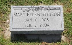 Mary Ellen <i>Epperson</i> Stetson