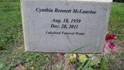 Cynthia <i>Bennett</i> McLaurine
