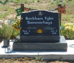 Beckham Tyler Summerhays