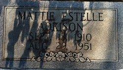 Mattie Estelle Adkison