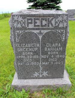 Clara <i>Peck</i> Barham