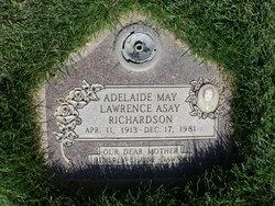 Adelaide May <i>Lawrence</i> Richardson