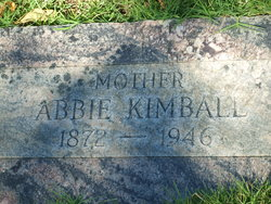 Abbie Hannah <i>Rice</i> Kimball