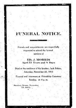 Edward James Ed Morris, Jr