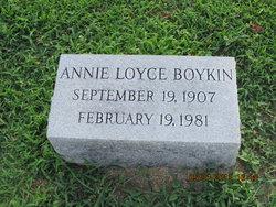 Annie Loyce <i>Barnes</i> Boykin