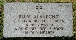 Rudolph Henry Albrecht