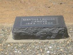 Martha Irene <i>Rouse</i> Canova