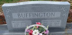Emma <i>Lipscomb</i> Buffington