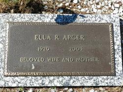 Ella R. <i>Westra</i> Apger