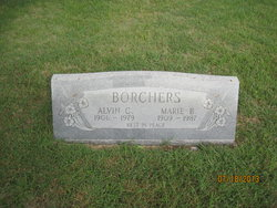 Marie Anna <i>Bennack</i> Borchers