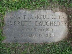 Oma Thankful <i>Everett</i> Daugherty