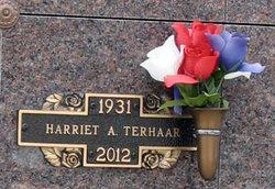 Harriet A <i>Redding</i> Terhaar