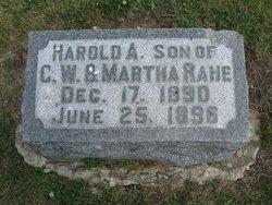 Harold A. Rahe