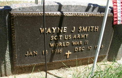Wayne John Smitty Smith