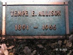 Temperence E Tempee Allison