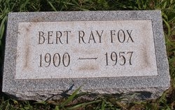 Bert Ray Fox