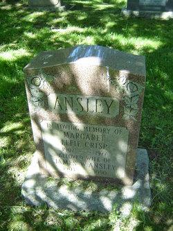 Margaret Effie <i>Crisp</i> Ansley