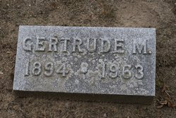 Gertrude M Biek