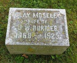 Mary Clay <i>Moseley</i> Burrier