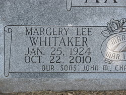 Margery Lee <i>Whitaker</i> Axtell